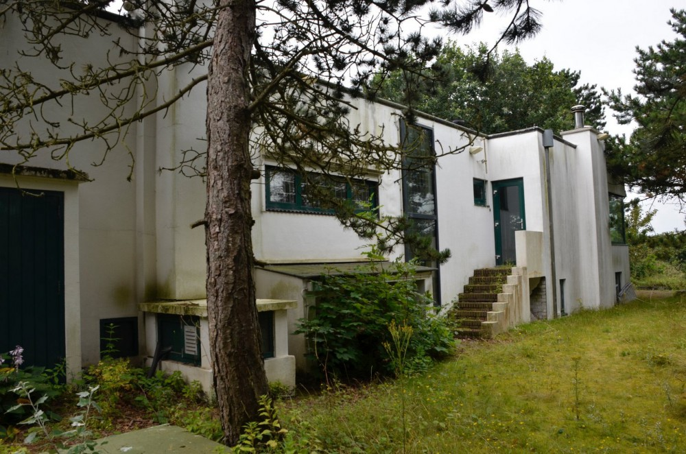Moderne villa raambekleding t